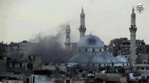 masjid-di-suriah-hancur
